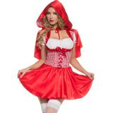 high Quality Red Costume