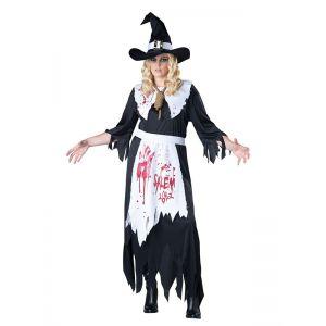 women halloween costume with hat