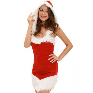 Red Santa Christmas Costume