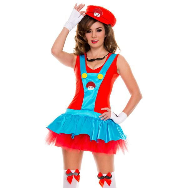 карнавальный костюм супер марио