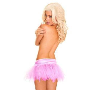 Mini skirt pink air