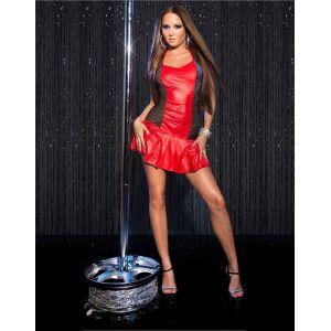 Sexy KouCla GoGo-minidress with pleated skirt