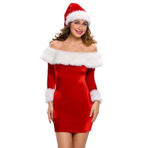 Sexy Delightful Santa Sweetie Adult Christmas Costume