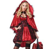 fashion red riding hood costume