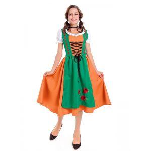 plus size fancy beer girl costume