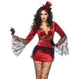 Neck Biting Vamp Sexy Women Costume