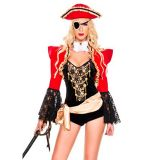 Pirate Lacy Lady of The Sea Costume