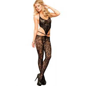 Fancy Lace Bodystocking