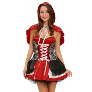 Sweet Little Red Riding Hood Costume Dress - Карнавальные костюмы