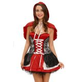 Sweet Little Red Riding hood Costume Dress