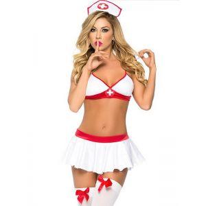 Sexy Nurse Costumes Uniiform Adult