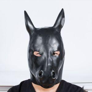 Natural Latex Molding horse hood