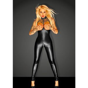 Black Super Springy Spandex-latex Catsuit - Одежда (латекс, винил)