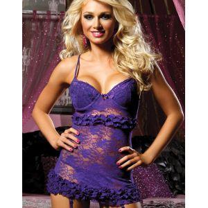 Romance Purple Bustier