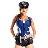 Police Women Cop Officer Costume Suit