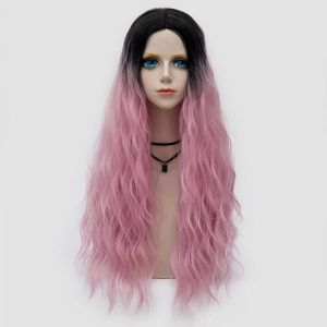 SALE! The pink wavy wig in Ombre