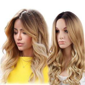 SALE! Wig Ombre light from a long and wavy hair