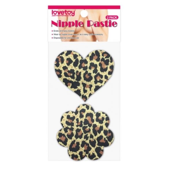 Leopard Sexy Nipple Pasties (2 Pack)