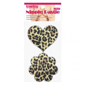 Leopard Sexy Nipple Pasties (2 Pack) - Стикини (на соски)