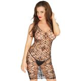 Black Sexy Bodycon Net Chemise