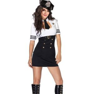 Sexy Pilot Captain Costume