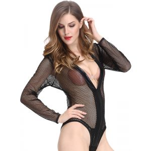 Sexy Women Hollow Out Lingerie Romper