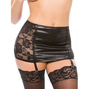 Sexy Lace Leather Lingerie Garters
