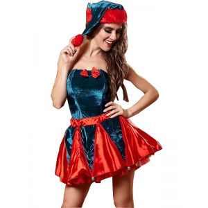 Red Christmas Costume for Women