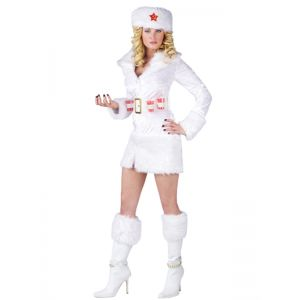 White One Size Sexy Women Christmas Costume