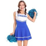 Women Fashion Sleeveless Cheerleading Uniform
