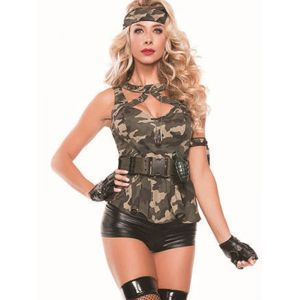 Sexy Woman Military Costume