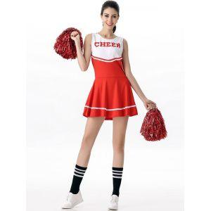 Red Sexy Women Sport Mini Dress