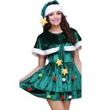 Green Sexy Christmas Fancy Dress