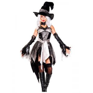 halloween Cosplay Glam Witch Costume