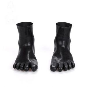 natural latex five fingers socks