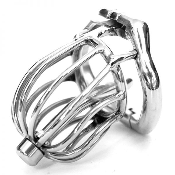 BDSM (БДСМ) - Stainless steel Male chastity devices Latest Design