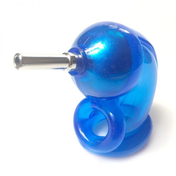 BDSM (БДСМ) - <? print SHOCK LOCK Electro Cock Cage ATOMIC JOCK BLUE; ?>