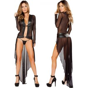 Women Long Exotic Dancer Gowns
