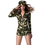 Sexy Green Army Costume