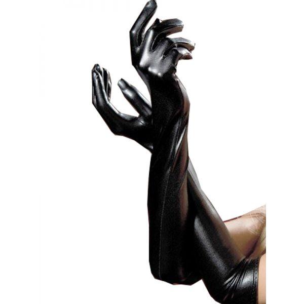 BDSM (БДСМ) - Black Leather Long Glove