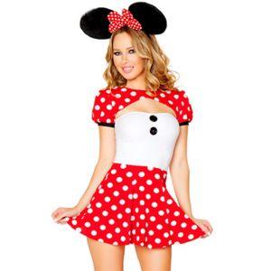 Cute Minnie Mouse Mascot Costume
