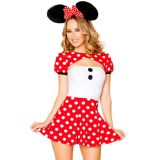 Cute Minnie Mouse Mascot Costume