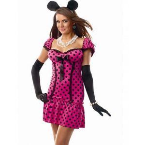 Polka Dot Short Sleevel Costume