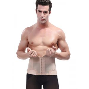 Apricot Underbust Shapewear For Men