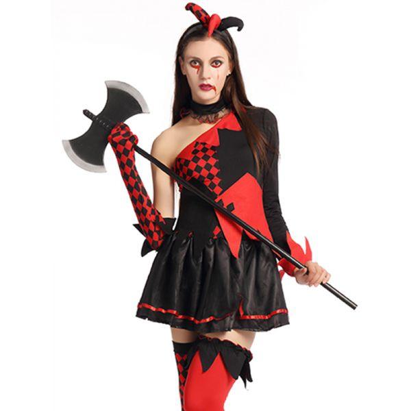 women halloween costume party dress