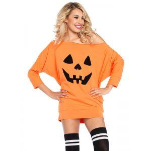 Orange M-XL Pumpkin Halloween Costume
