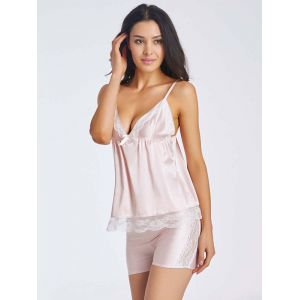 Light Pink Babydoll Suits S-2XL