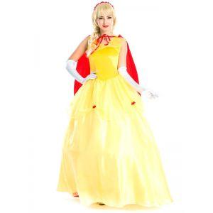 Yellow Deluxe Woman Costume
