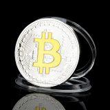 РАСПРОДАЖА! Сувенирная монета coin Bitcoin по оптовой цене