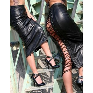 Vinly Leather Lingerie